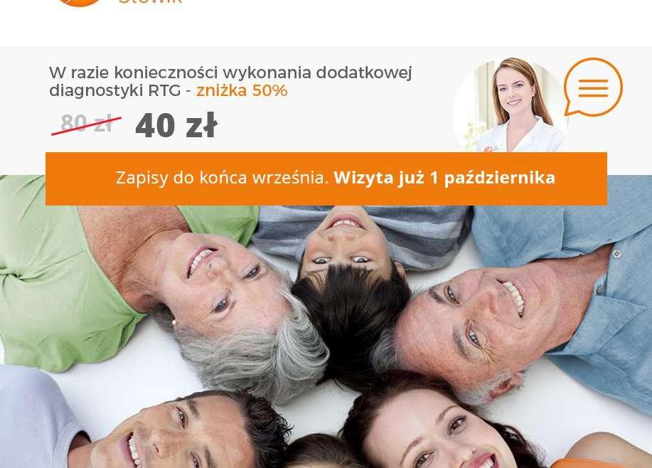 Zapraszamy na bezpłatny przegląd stomatologiczny w Szczecinie